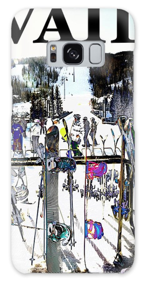Vail Galaxy S8 Case featuring the photograph Vail Fun by Roberta Peake