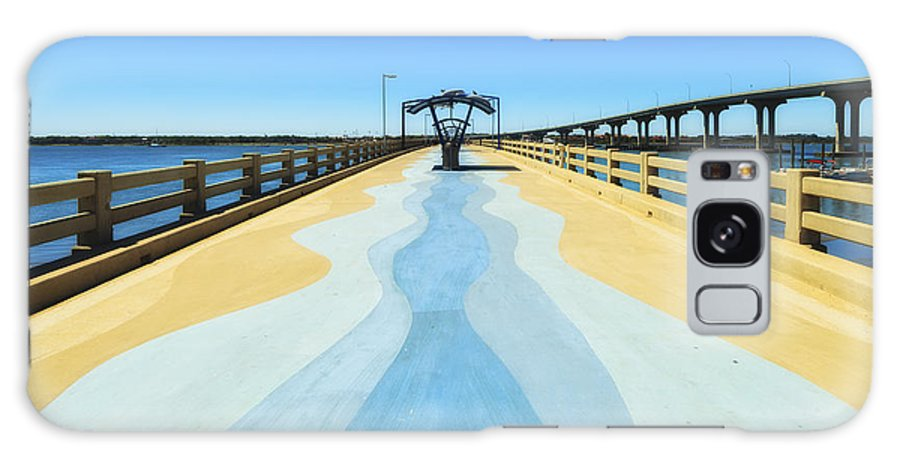 Atlantic Ocean Galaxy S8 Case featuring the photograph Valero Beach Fishing Pier by Raul Rodriguez