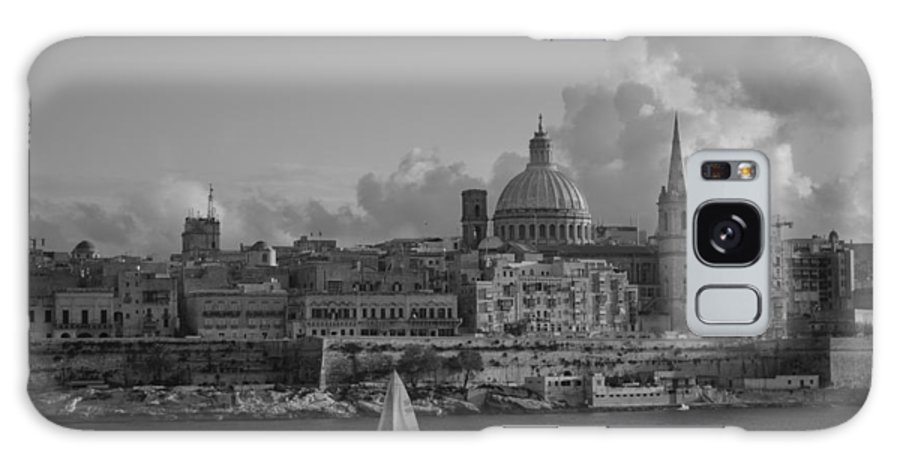 Galaxy S8 Case featuring the photograph Valletta by Charlene Zammit