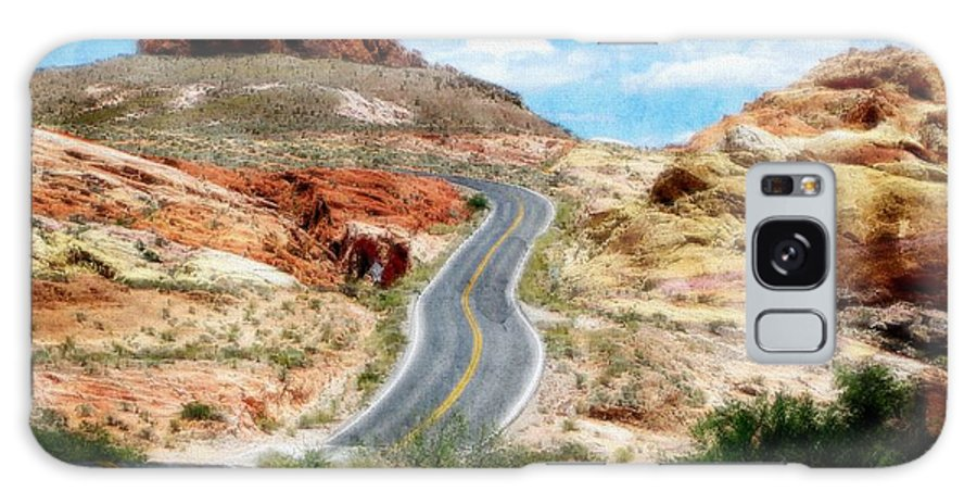 Valley Of Fire State Park Galaxy S8 Case featuring the digital art Valley Of Fire State Park by Kelly Schutz