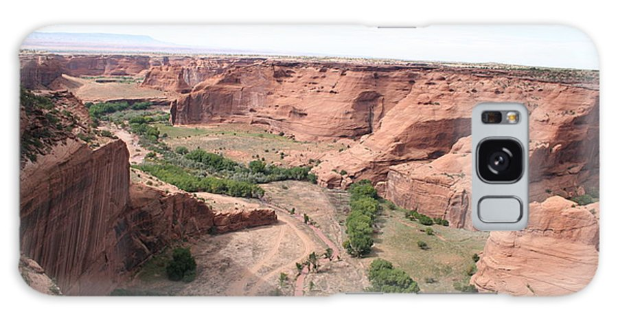 Valley Galaxy S8 Case featuring the photograph Canyon De Chelly Valley View  by Christiane Schulze Art And Photography
