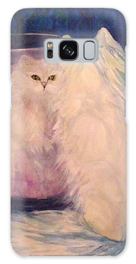 Cats Galaxy S8 Case featuring the painting Vanity by Carolyn LeGrand