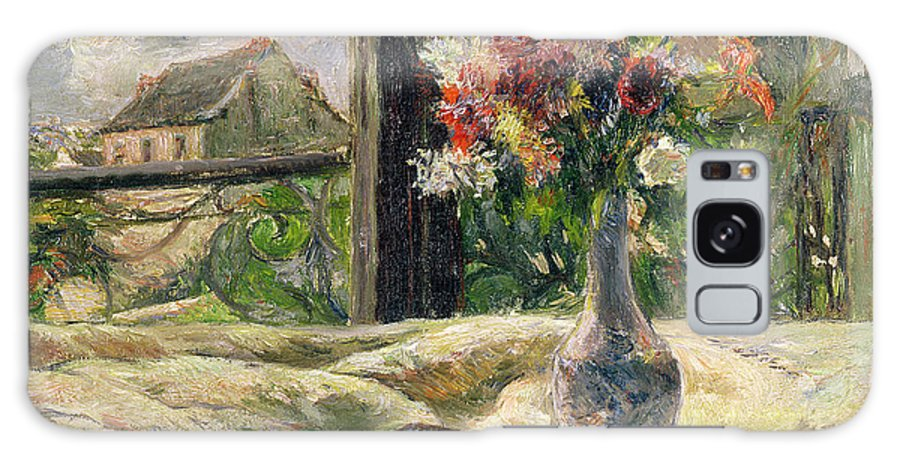 Vase Of Flowers Galaxy S8 Case featuring the painting Vase Of Flowers by Paul Gauguin