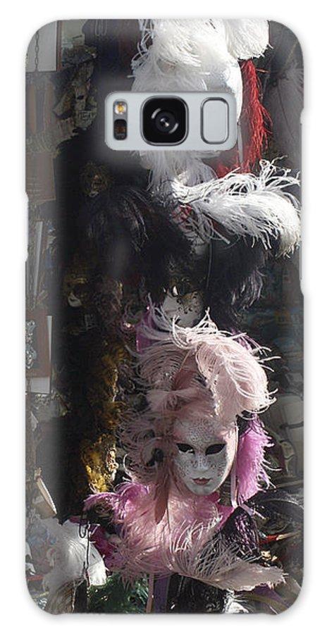 Karen Zuk Rosenblatt Galaxy S8 Case featuring the photograph Venetian Masks by Karen Zuk Rosenblatt