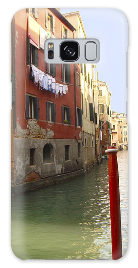 Karen Zuk Rosenblatt Galaxy S8 Case featuring the photograph Venice Canal 3 by Karen Zuk Rosenblatt