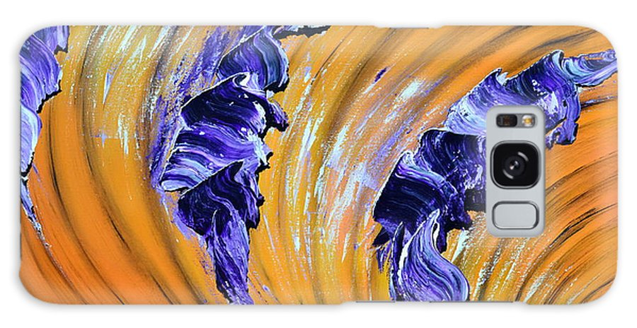 Abstract Galaxy S8 Case featuring the painting Vent D'autan by Thierry Vobmann