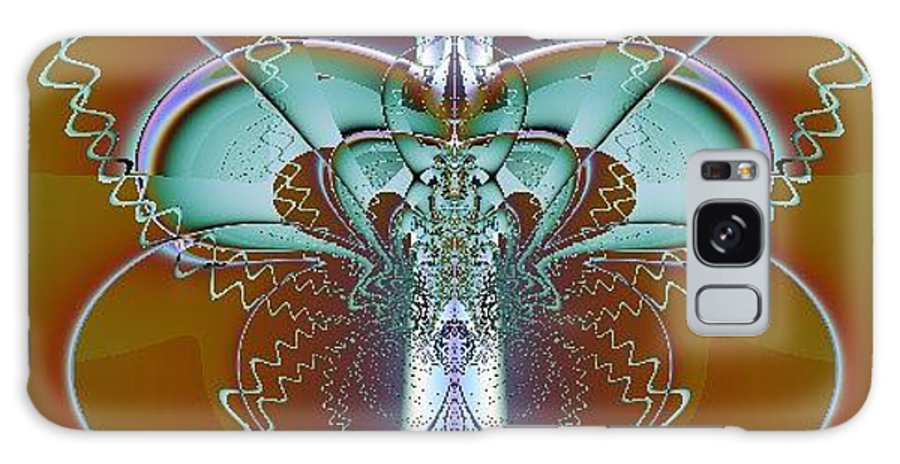 Digital Art Galaxy S8 Case featuring the digital art Vertebrae I by Dragica Micki Fortuna
