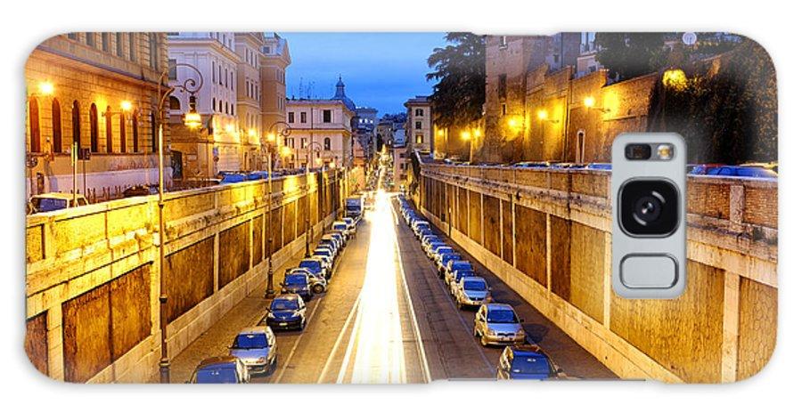 Via Galaxy S8 Case featuring the photograph Via Degli Annibaldi by Fabrizio Troiani