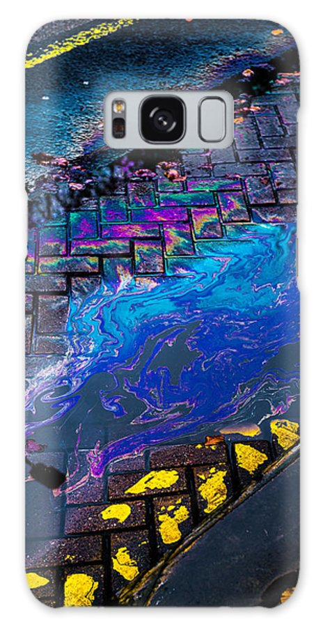 Brick Galaxy S8 Case featuring the photograph Vibrant Street Colors by Dennis Dame