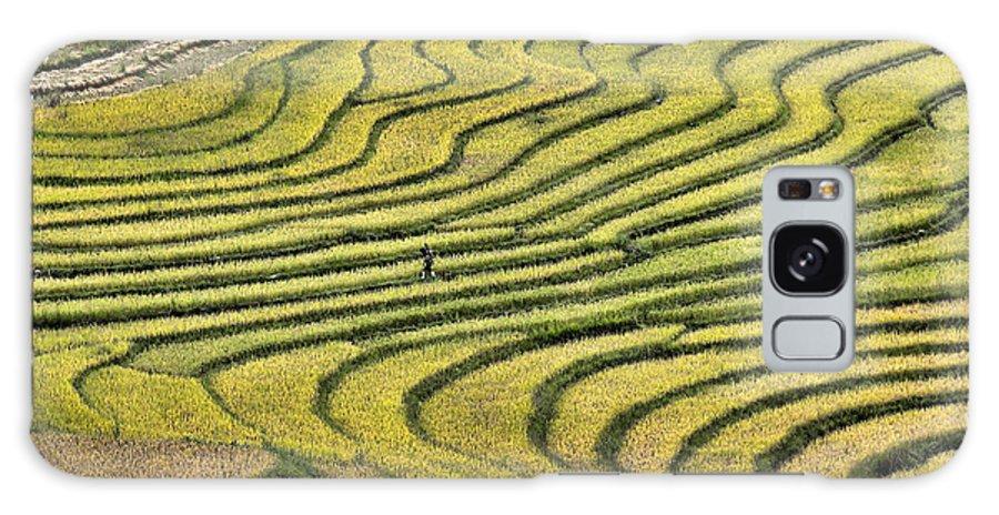 Sapa Galaxy S8 Case featuring the photograph Vietnam Sapa Iv by Chuck Kuhn