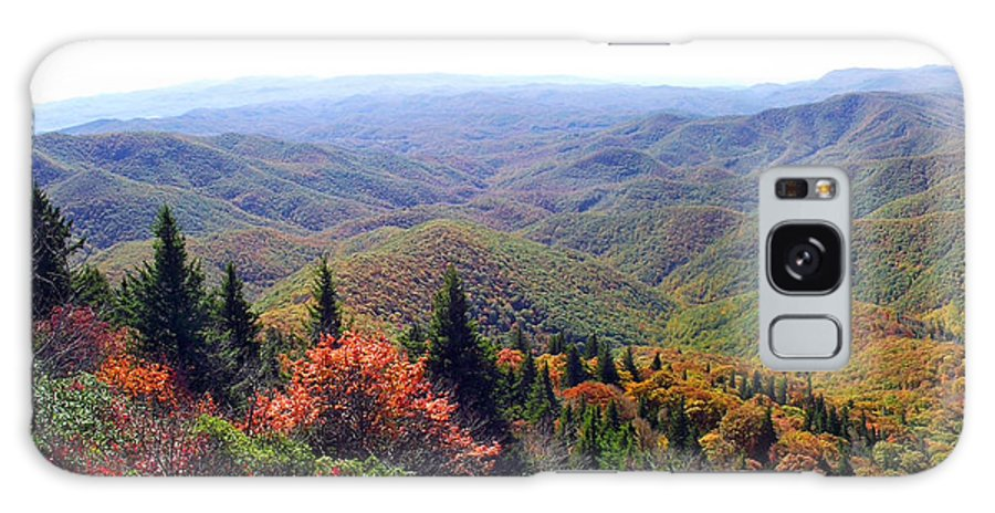 Duane Mccullough Galaxy S8 Case featuring the photograph View From Devil's Courthouse Mountain by Duane McCullough