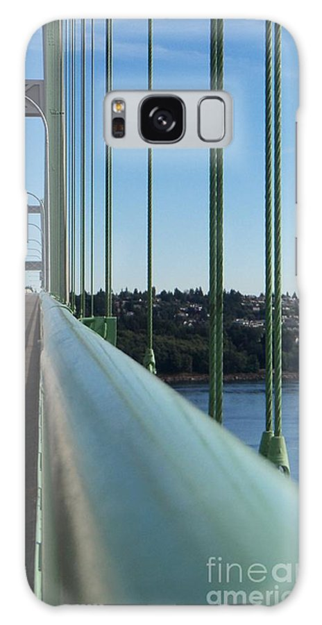Tacoma Galaxy S8 Case featuring the photograph View From The Edge by Geralyn Willingham