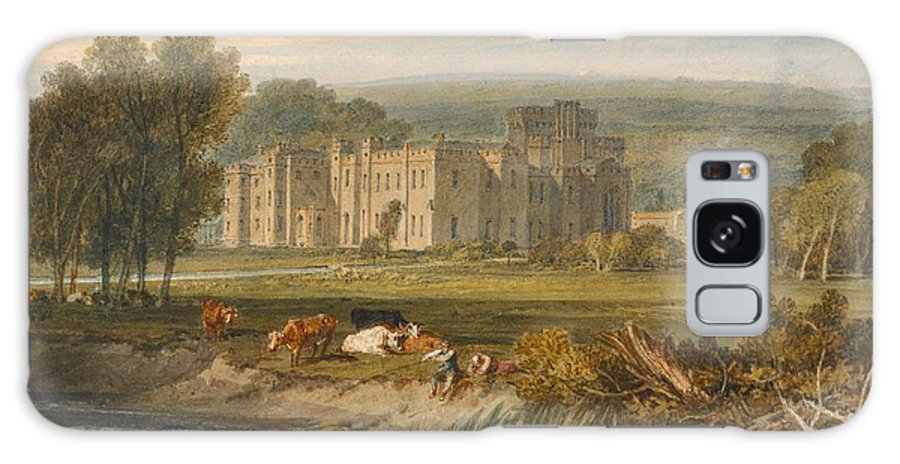 1806 Galaxy S8 Case featuring the painting View Of Hampton Court by JMW Turner