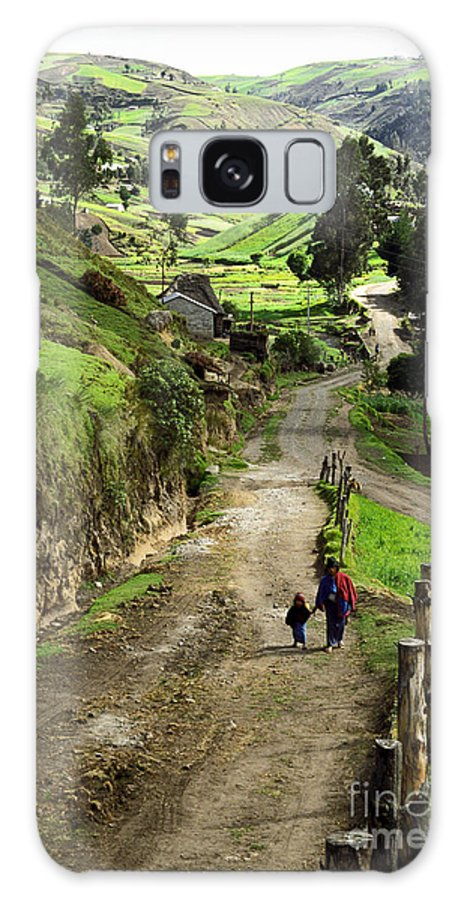 Ecuador Galaxy Case featuring the photograph View Of Lupaxi by Kathy McClure
