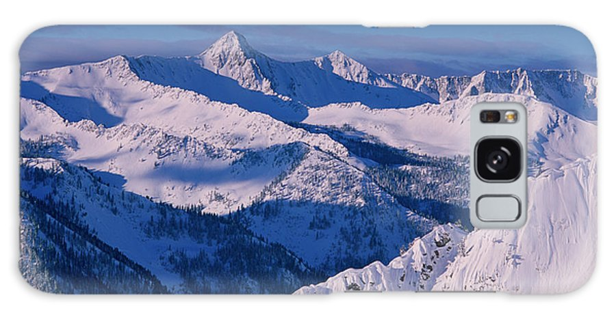 Alta Galaxy S8 Case featuring the photograph View Of Pfeifferhorn From The Big by Howie Garber