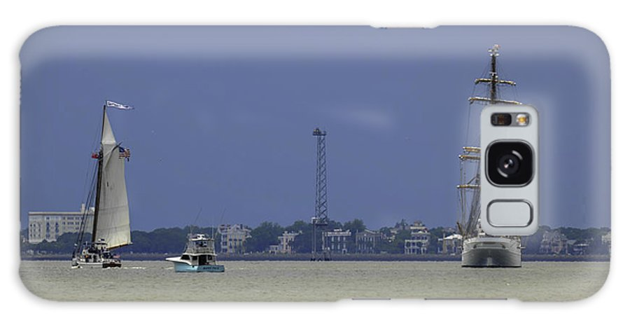 Tall Ships Galaxy S8 Case featuring the photograph Windward View Of The Battery by Dale Powell