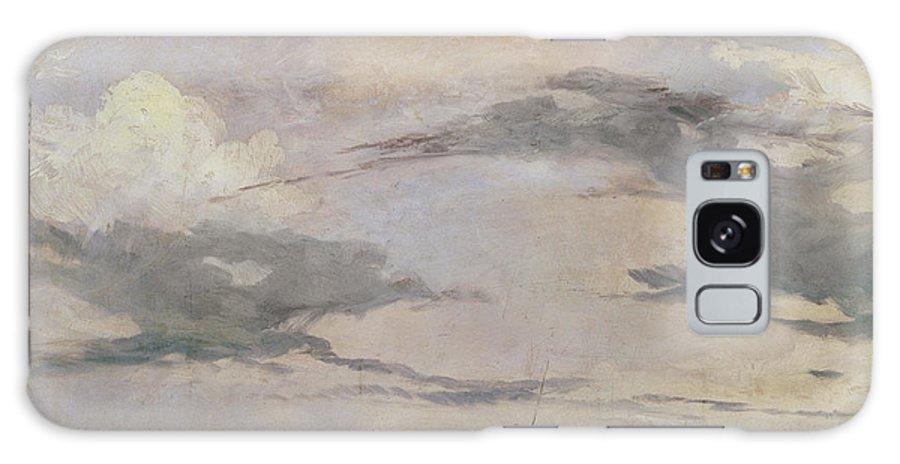 Venice Galaxy S8 Case featuring the painting View Of The Lagoon Near Venice, 1826 by Richard Parkes Bonington