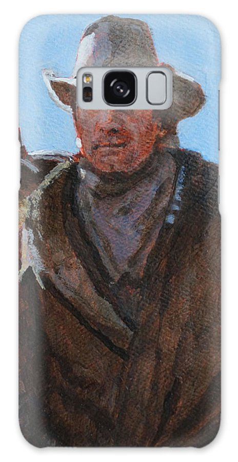 Viggo Galaxy S8 Case featuring the painting Viggo by Robert Bissett