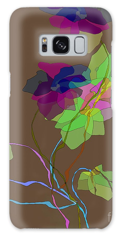 Ursula Freer Galaxy S8 Case featuring the digital art Vines by Ursula Freer