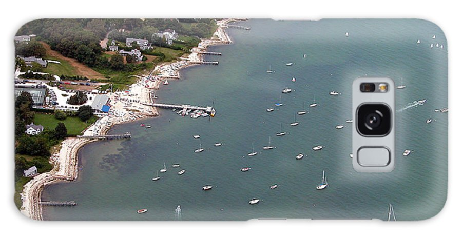 Galaxy S8 Case featuring the photograph Vineyard Haven Yacht Club by Richard Sherman