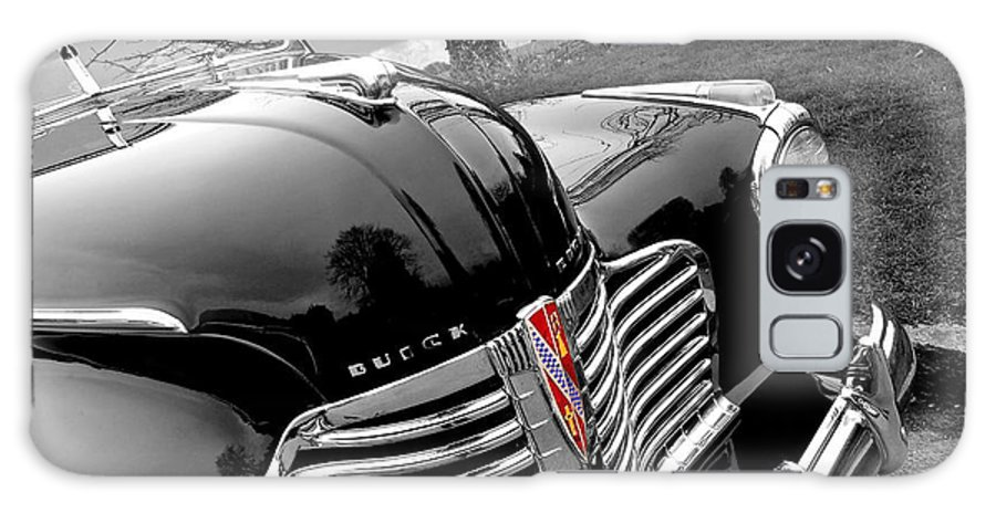 Buick Galaxy S8 Case featuring the photograph Vintage Buick 8 by Gill Billington