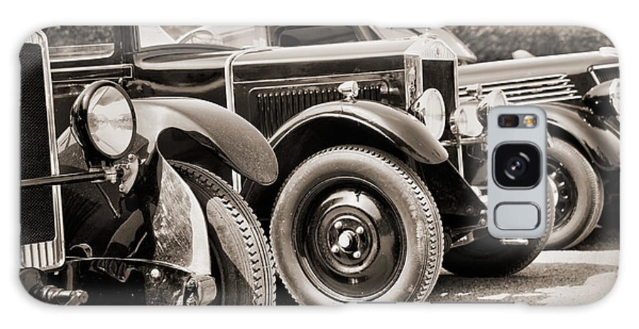 Antique Galaxy S8 Case featuring the photograph Vintage Cars by Delphimages Photo Creations