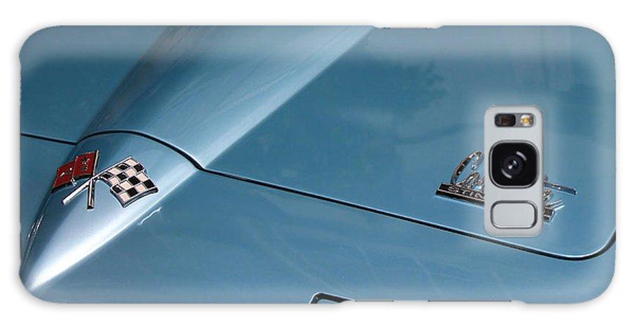 Corvette Galaxy S8 Case featuring the photograph Vintage Corvette 6 by Andrew Fare