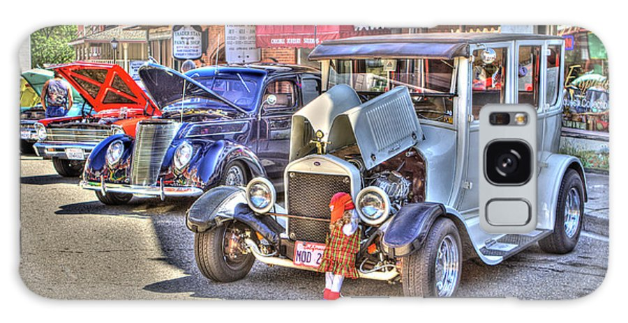 Mother Lode Car Show 2013 Galaxy S8 Case featuring the photograph Vintage Cruise Cars 5 by SC Heffner