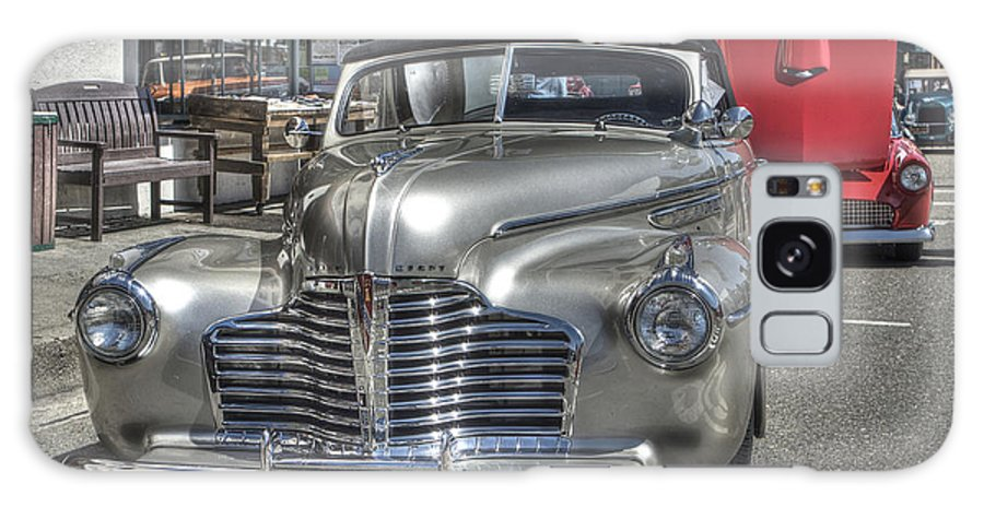 Mother Lode Car Show 2013 Galaxy S8 Case featuring the photograph Vintage Cruise Cars 6 by SC Heffner