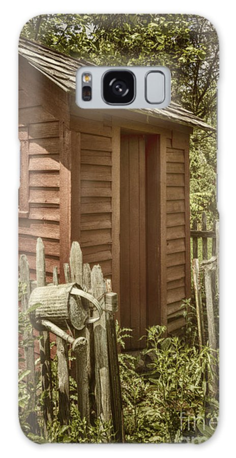 Shed Galaxy S8 Case featuring the photograph Vintage Garden by Margie Hurwich