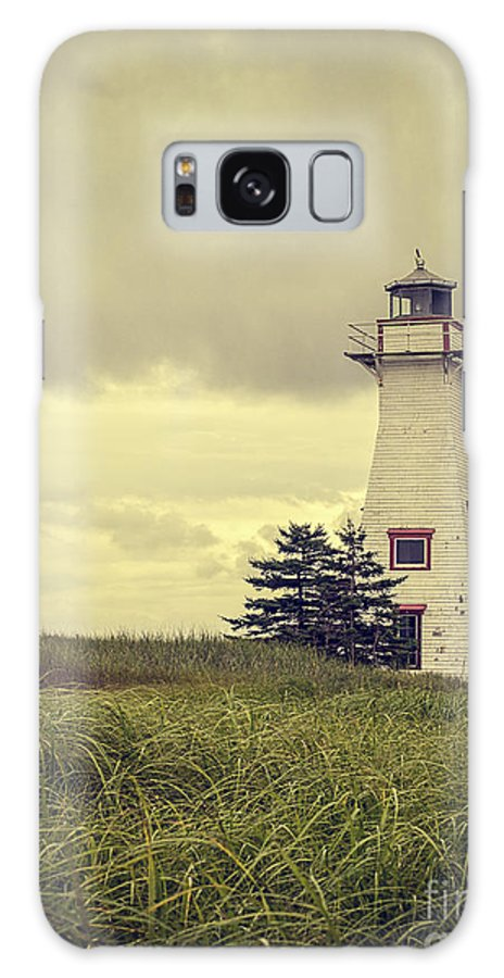 Prince Galaxy S8 Case featuring the photograph Vintage Lighthouse Pei by Edward Fielding