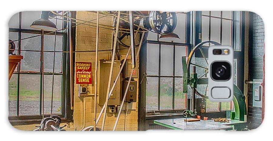 Machine Shop Galaxy S8 Case featuring the photograph Vintage Michigan Machine Shop by Paul Freidlund
