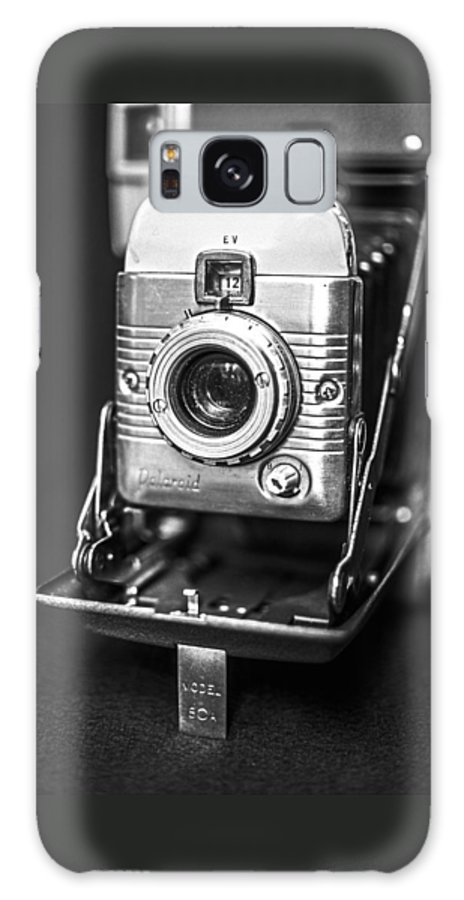 Vintage Galaxy S8 Case featuring the photograph Vintage Polaroid Land Camera Model 80a by Jon Woodhams