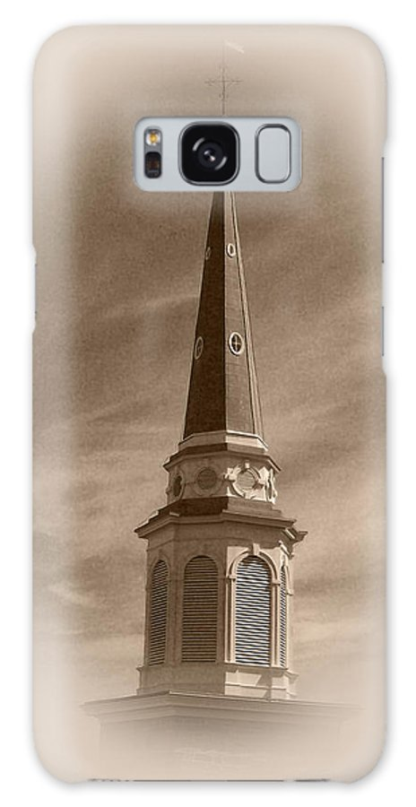 Church Galaxy S8 Case featuring the photograph Vintage Steeple by Pharris Art