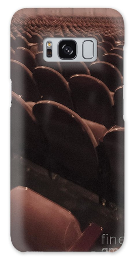 Chairs Galaxy S8 Case featuring the photograph Vintage Theater by Margie Hurwich