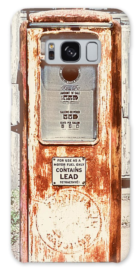 Vintage Galaxy S8 Case featuring the photograph Vintage Tokheim Gas Pump by Marilyn Hunt