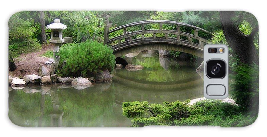 Asian Galaxy S8 Case featuring the photograph Vintage Wooden Bridge by Ken Reardon