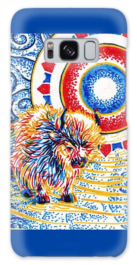 Vision Galaxy S8 Case featuring the painting Vision Quest by Samantha Geernaert