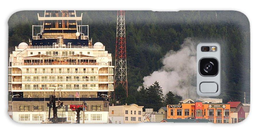Cruises Galaxy S8 Case featuring the photograph visit Alaska by Karen Horn