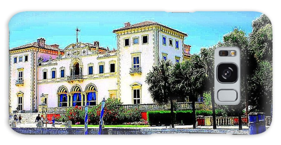 Vizcaya Museum And Gardens In Miami - Florida - Landscapes - Miami Galaxy S8 Case featuring the photograph Vizcaya Museum And Gardens by Dora Sofia Caputo Photographic Design and Fine Art