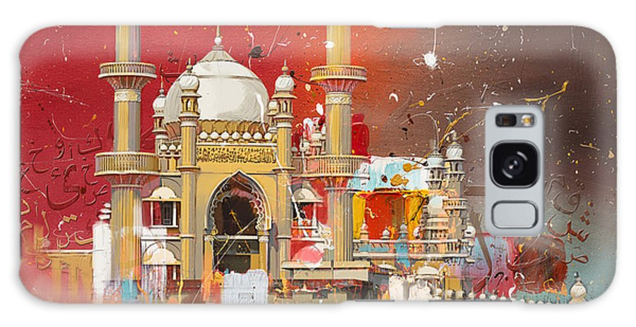 Vizhinjam Mosque Galaxy S8 Case featuring the painting Vizhinjam Mosque by Corporate Art Task Force