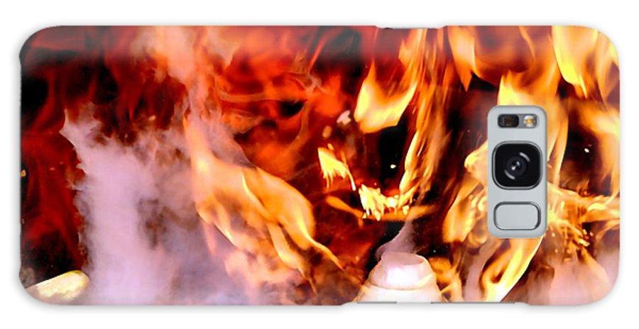 Bob Wall Galaxy S8 Case featuring the photograph Volcano by Bob Wall