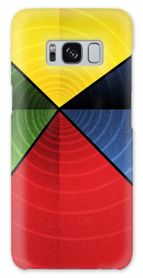 Abstract Galaxy S8 Case featuring the digital art Vortex by James Kramer