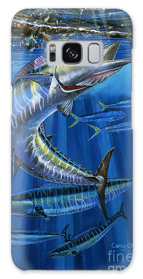 Wahoo Galaxy S8 Case featuring the painting Wahoo Rip Off0047 by Carey Chen