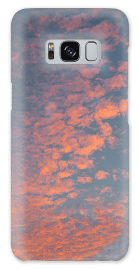 Clouds Galaxy S8 Case featuring the photograph Waikiki Sunset Sky by Michele Myers