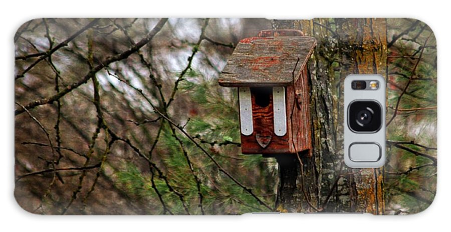 Birdhouse Galaxy S8 Case featuring the photograph Waiting For Future Occupants by Marjorie Imbeau