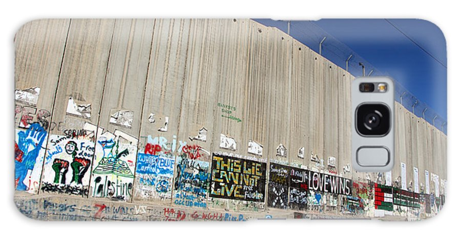 Apartheid Wall Galaxy S8 Case featuring the photograph Wall Museum by Munir Alawi