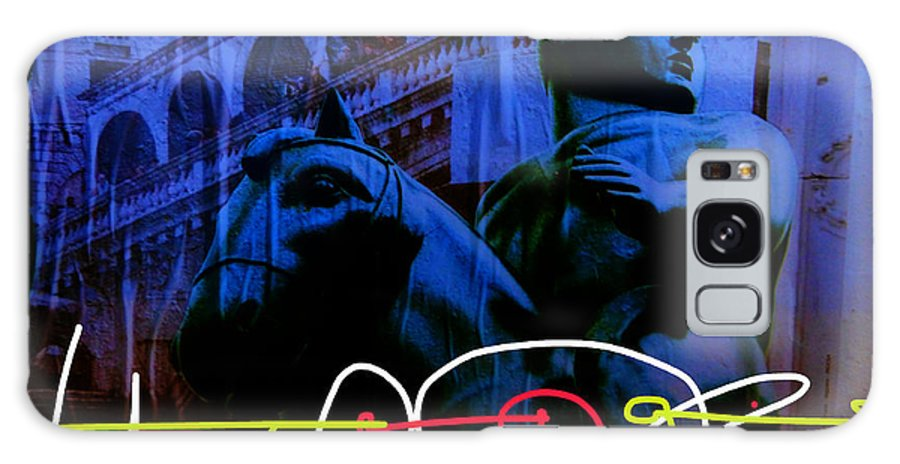 Street Art Galaxy S8 Case featuring the digital art Wall To Wall Abstraction 2 by Mark Fearn