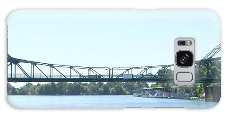 Bridge Galaxy S8 Case featuring the photograph Walnut Grove Bridge Mural by Mary Deal