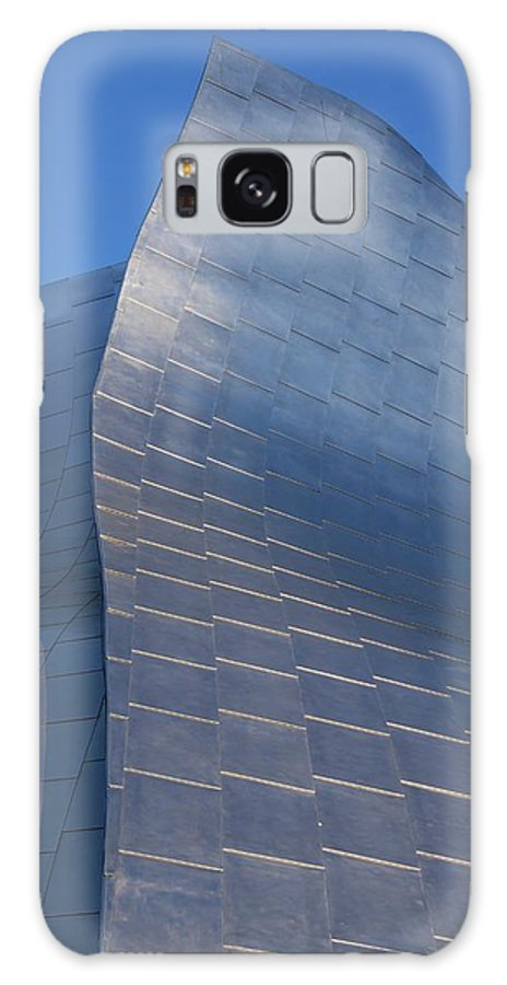 Stainless Galaxy S8 Case featuring the photograph Walt Disney Concert Hall by Mark Williamson